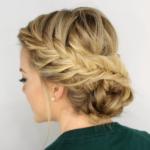 Beautiful Wedding Hairstyles Low Updo