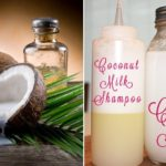 DIY Homemade Coconut Milk Shampoo For Shinny Hair