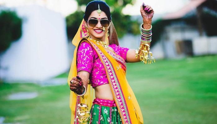 Gujarati Bridal Look, Indian Bridal Look