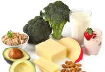 Food rich in Calcium content