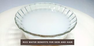 uses of rice water