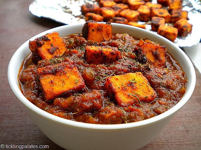DSCN5329 001 thumb7 - Tawa paneer masala recipe