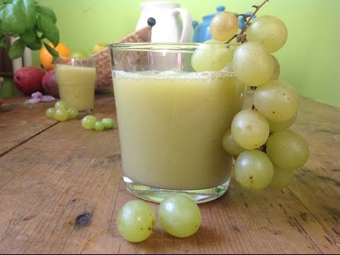 Health Benefits of Green Grape Juice
