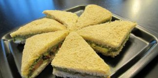 How to make chutney sandwich recipe ?
