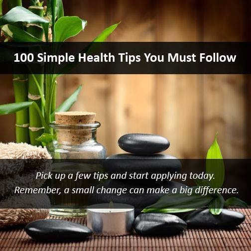 100 amazing health tips