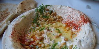 how to make Indian style hummus recipe