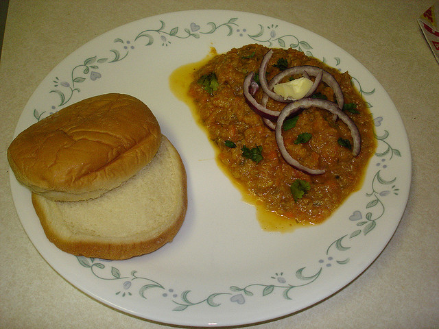 Pav Bhaji - North Indian Chat
