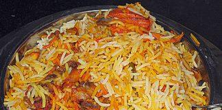 Muslim Style Chicken Biryani Recipe