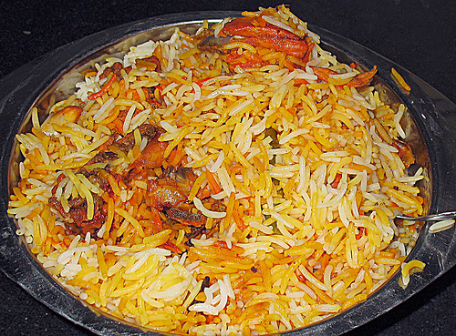 Muslim Style Chicken Biryani Recipe