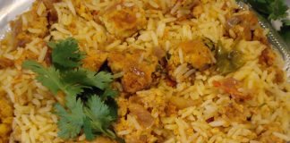 Spicy Egg Biryani recipe