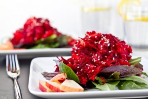 IMG 36261 300x200 - Healthy Beetroot and spinach salad