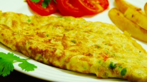 Healthy Masala Omlette Recipe