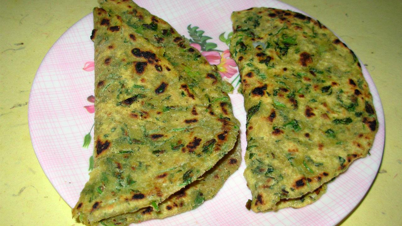 How to make Methi Parata ?