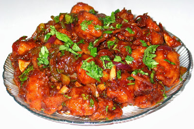 Hot and Spicy Chilly Soya Chunks recipe