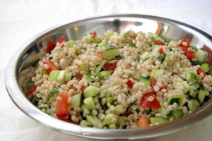 barley salad1 300x200 - Barley water secret weight loss tool