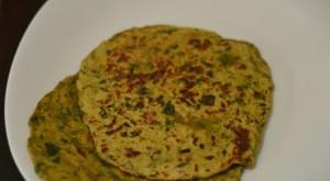 methi fenugreek paratha recipe.580 300x165 - How to make Methi Parata?