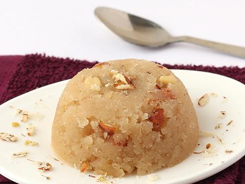 soojia halwa - Godhuma rava sweet recipe