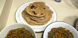 health benefits of chapati