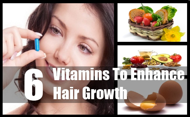 6 essential Vitamins for Hair Growth