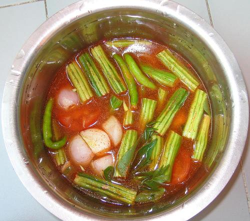 Delicious Tomato Sambar Recipe