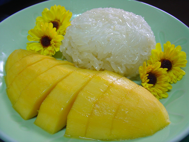 Simple Mango curd rice recipe