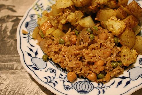 Tasty & Yummy Chickpeas Biryani Recipe