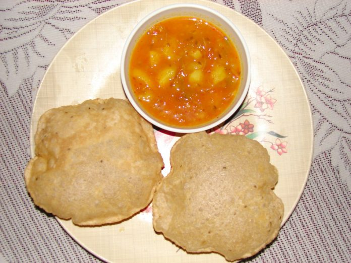 Besan Puri Recipe For Breakfast