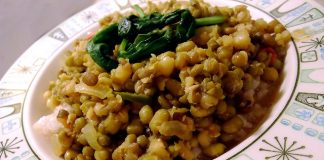 Sprouted Moong Dal Salad For Weight loss
