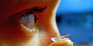 Health risks of contact lenses