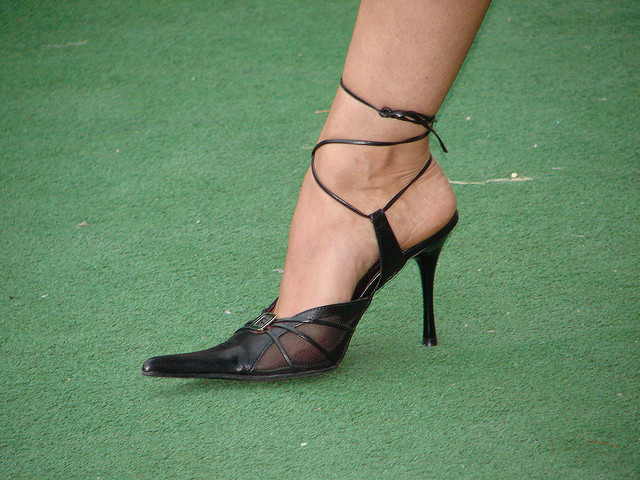 Health dangers of high heels