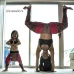 Laura Sykora Yoga with Daughter 8 150x150 - Laura Sykora Yoga with Daughter