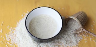 How To Wash Face With Rice Water?