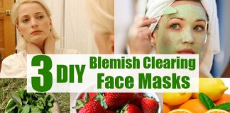 Homemade Masks for Clearing Blemishes