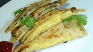 EggParatha 300x169 - Yummy Egg Paratha Recipe For Breakfast