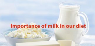 Importance of milk in our diet