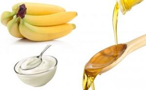 Bananas Yogurt Olive Oil Hair Mask1 300x185 - Uses of Banana Juice for Your Hair