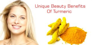 Unique beauty benefits of turmeric