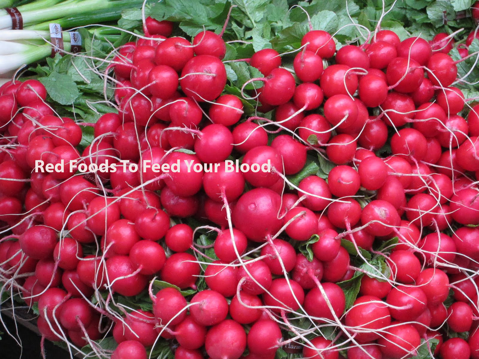 Red Foods To Feed Your Blood