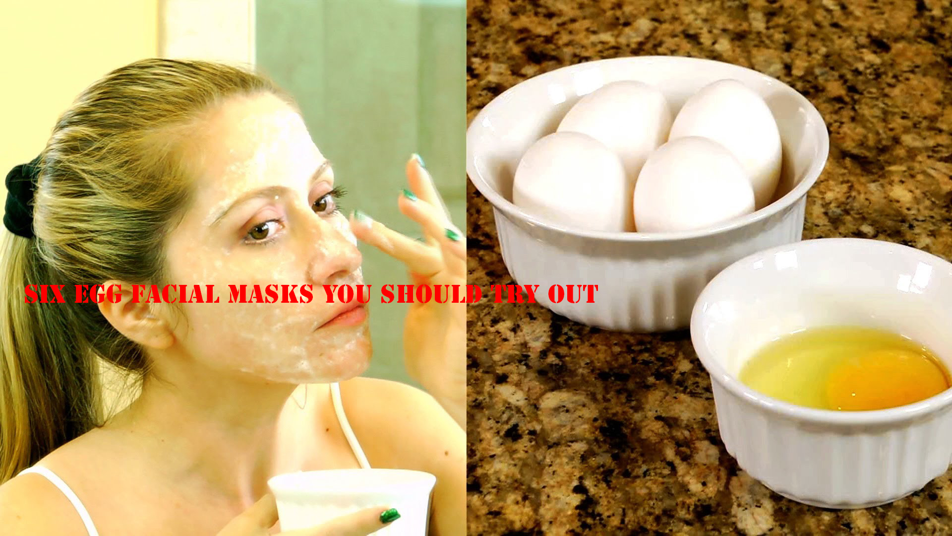 six egg facial masks you should try out