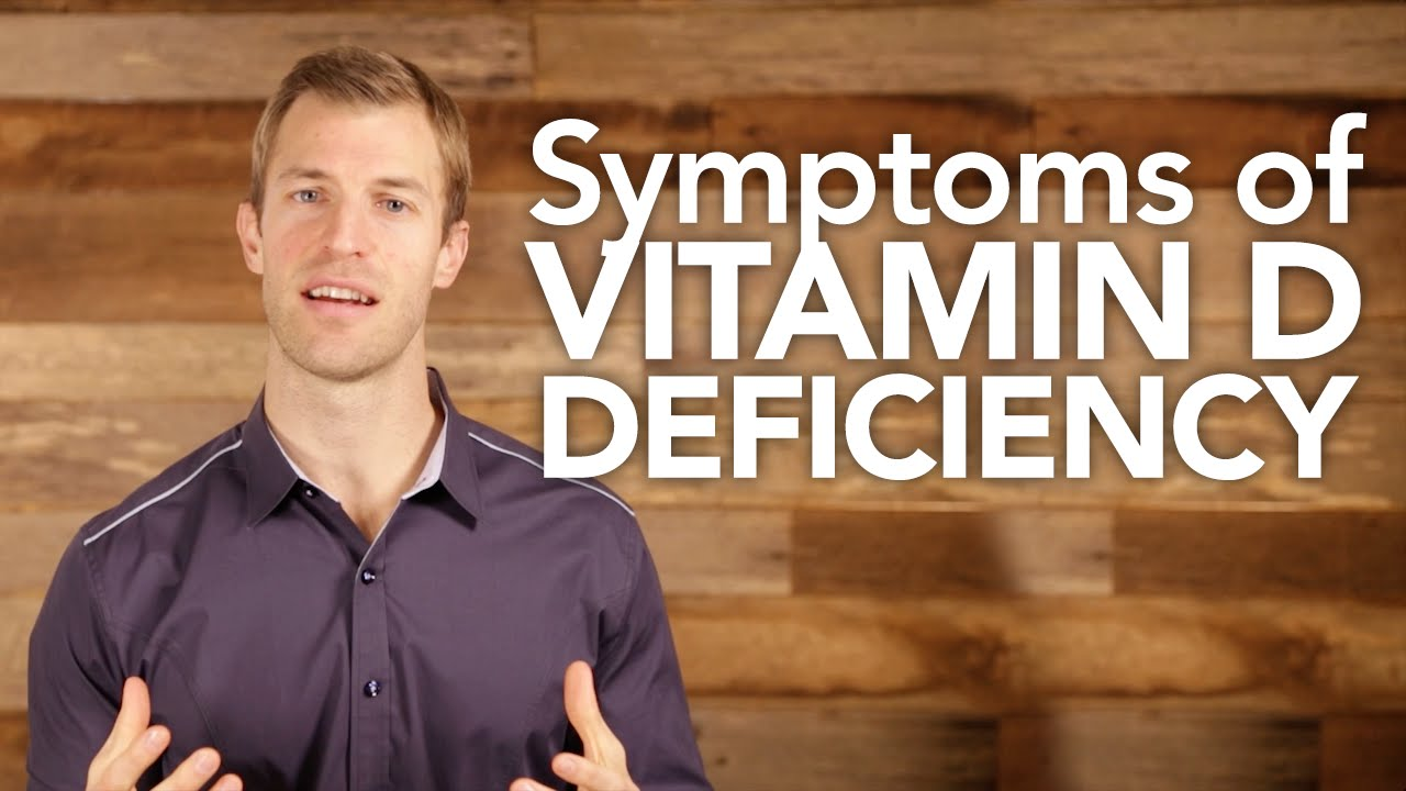 6 Signs And Symptoms Of Vitamin D Deficiency