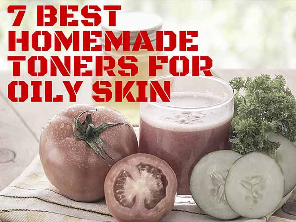 7 Best Homemade Toners For Oily Skin