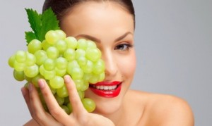 Skin Care With Grapes