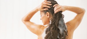 girl washing hair 300x136 - How to Get Rid of Dandruff