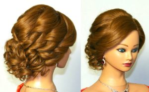 Updo Hairstyle 300x186 - Top 10 Most Popular Winter Hairstyles