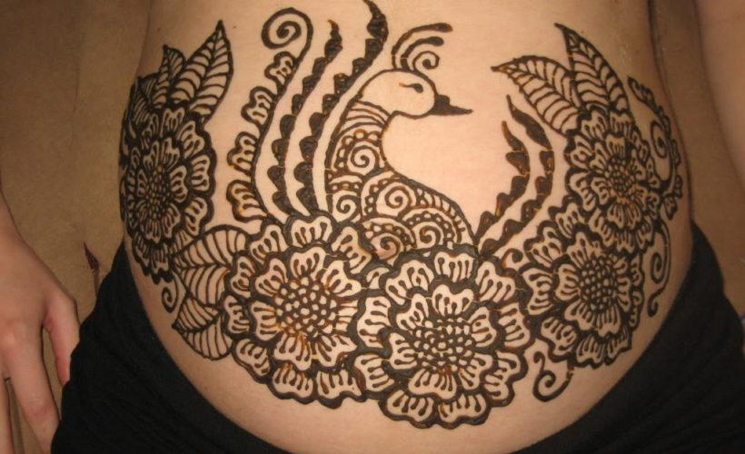 Belly Henna Designs