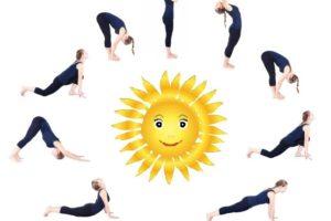 Surya Namaskar steps practice every morning