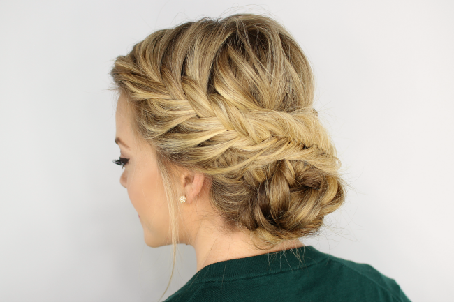 Beautiful Wedding Hairstyles Low Updo