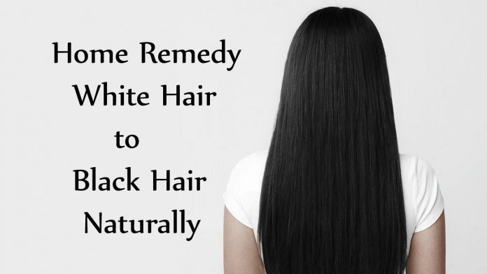 How to Stop White Hair using Natural Ingredients?