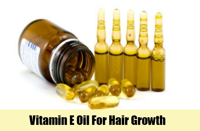 Uses of Vitamin E Oils For Hair
