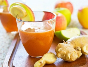 health benefits of Ginger carrot juice